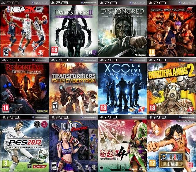 Нова услуга – Качване на игри на всички модели PS3